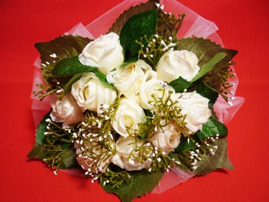 Букет Розочка белый