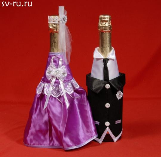Костюм на шампанское №11 сирень (5пар)