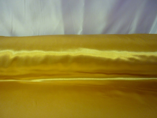 Атлас золото ширина 1,5м длина 100м
