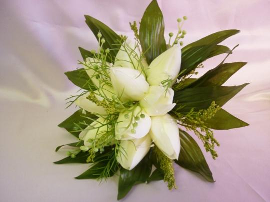 Букет Тюльпан белый