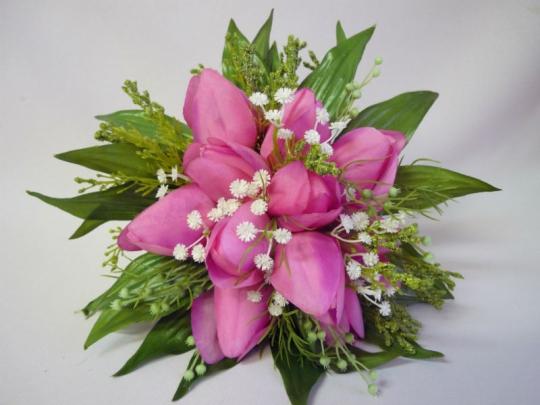Букет для невесты Тюльпан розовый