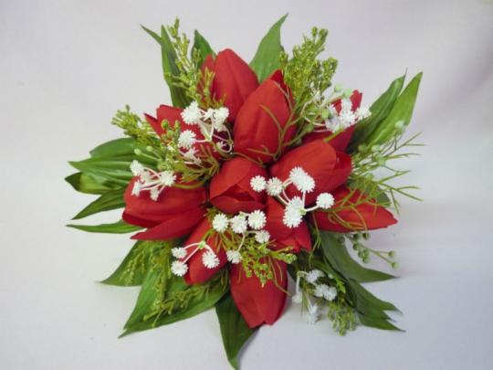 Букет для невесты Тюльпан красный