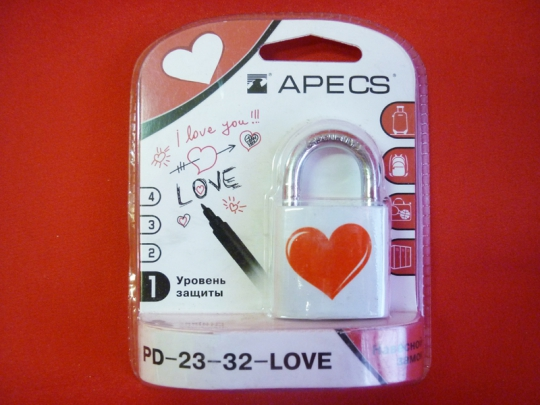 Замок PD-23-32-LOVE