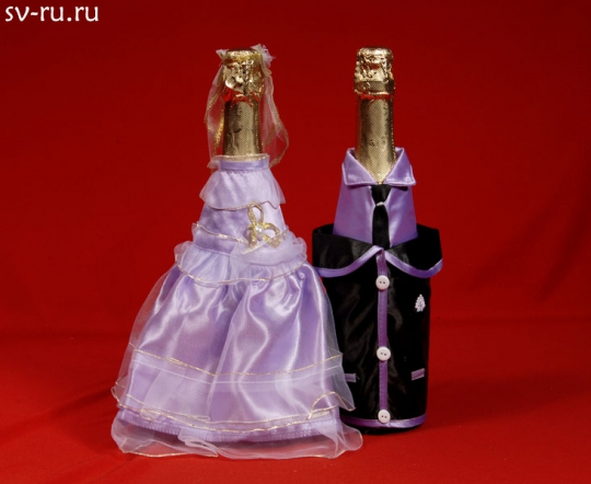 Костюм на шампанское №12 сирень (5пар)