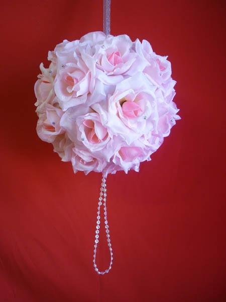 Декорация Шар 25см розовый
