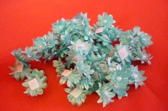 Цветы-липучки тиффани (упак.100шт.)