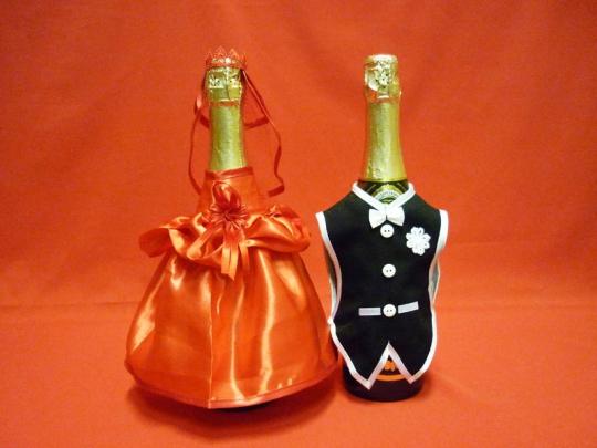 Костюм на шампанское №7 красный (5пар)