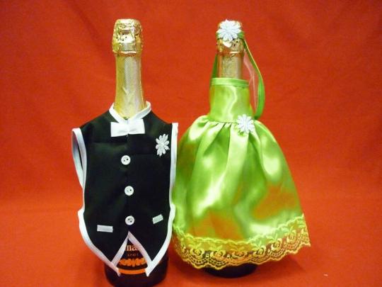 Костюм на шампанское №5 салатовый (5пар)