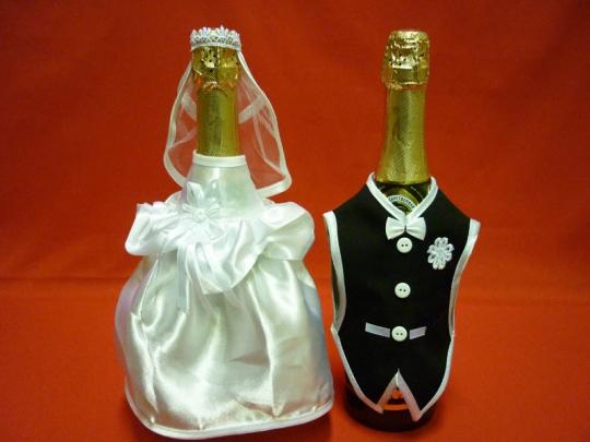 Костюм на шампанское №7 белый (5пар)