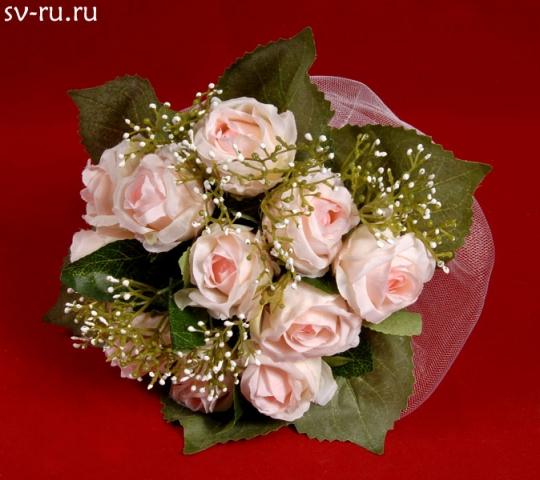 Букет для невесты Роза розовый
