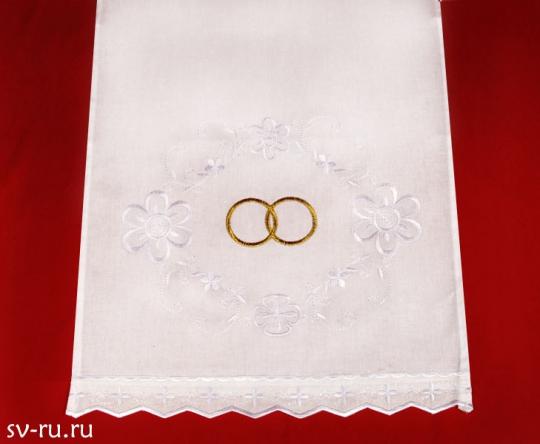 Полотенце венчальное под ноги-бязь