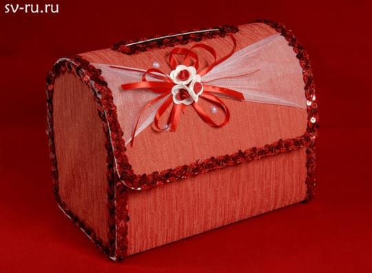 Сундук №3 (красный) разборный