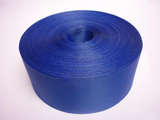 Лента полиэстер 5см/100м синяя