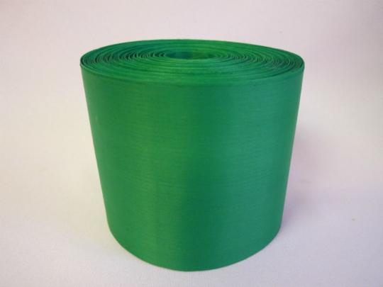 Лента полиэстер 10см/100м зелёная