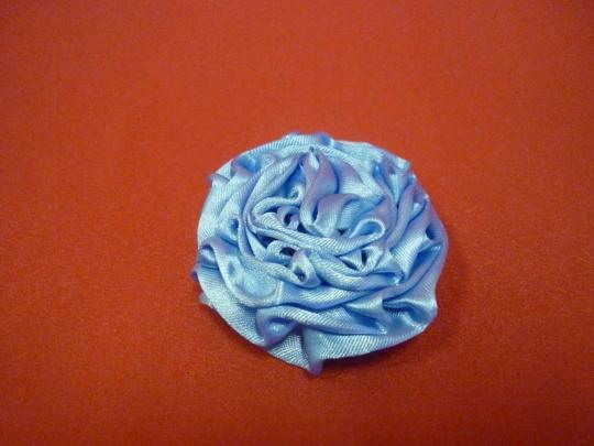 Роза атлас голубая 7см. (10шт)