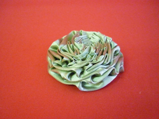 Роза атлас оливка 7см. (10шт)