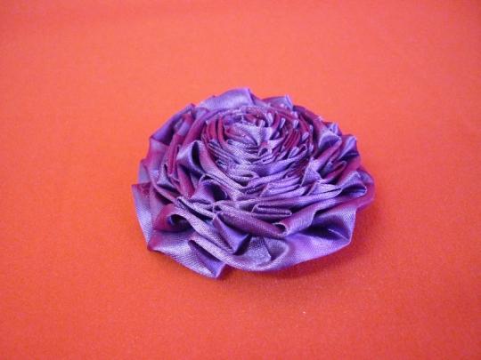 Роза атлас фиолет 7см. (10шт)