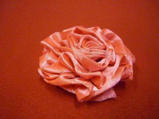 Роза атлас ярко-розовая 7см. (10шт)