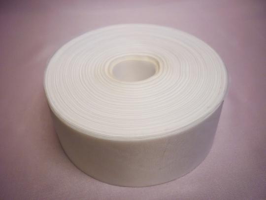 Лента полиэстер 5см/100м белая