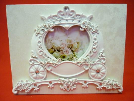 Книга пожеланий Свадебная карета GL-101000 20*25см