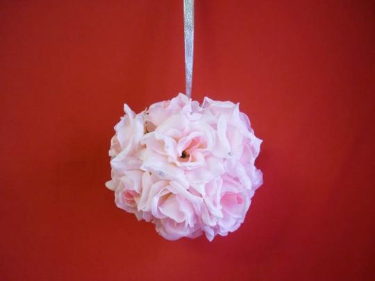 Декорация Шар 20см розовый