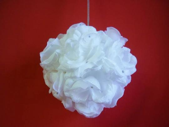 Декорация Шар 20см белый