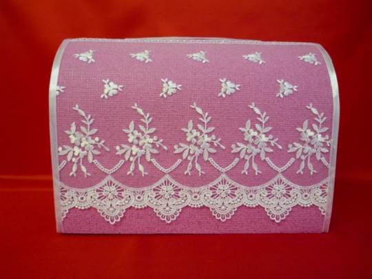 Сундук №А1 ярко-розовый неразборный