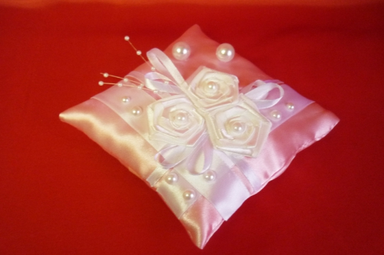 Подушечка Арго розовая