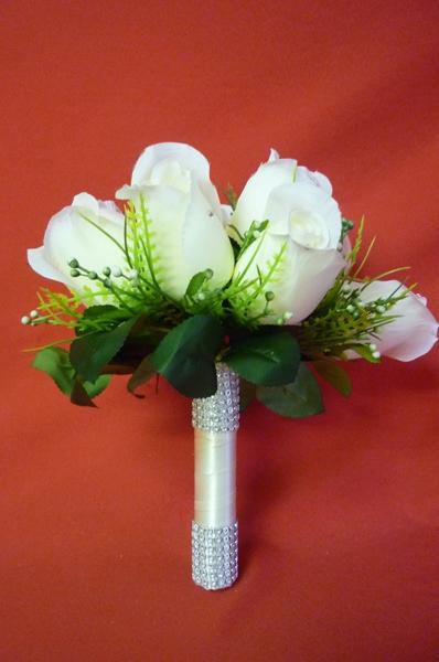 Букет Роза №1 бел
