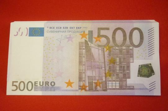 Шуточные деньги №6 (500евро)