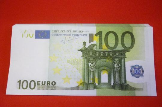 Шуточные деньги №8 (100евро)