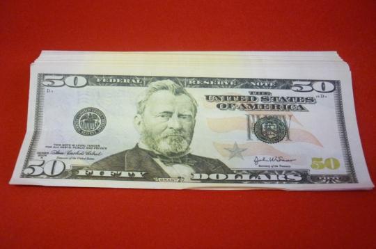 Шуточные деньги №10 (50$)