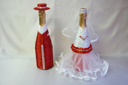 Костюм на шампанское Бейка №1 красный