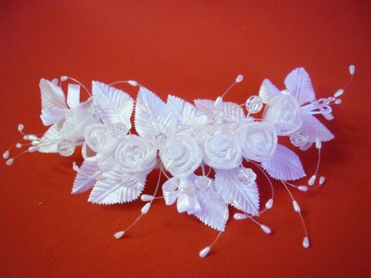 Веночек белый Роза
