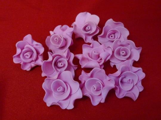Лилия 2,5см розовая (10шт)