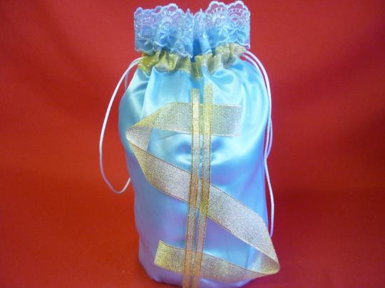 Мешок для денег  $  (упак 5 шт.) голубой