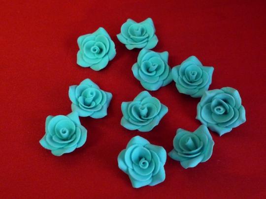 Роза №2, 3см тиффани (10шт)