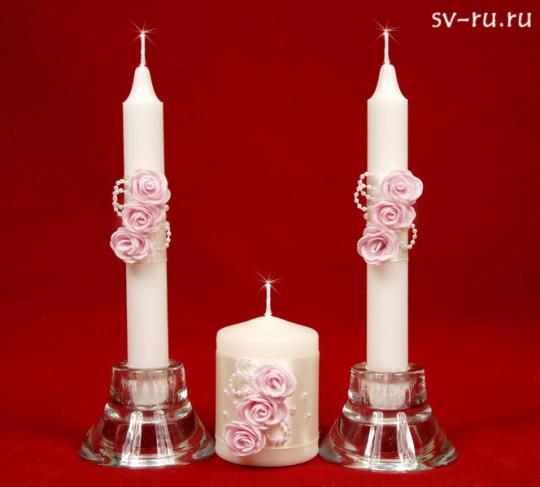 Семейный очаг Нежность розовый/жемчуг