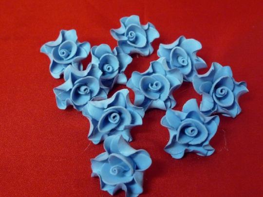 Лилия 2,5см голубая (10шт)
