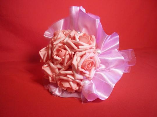 Букет для невесты №1 латекс розовый