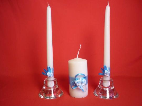 Семейный очаг №6 Трио голубой