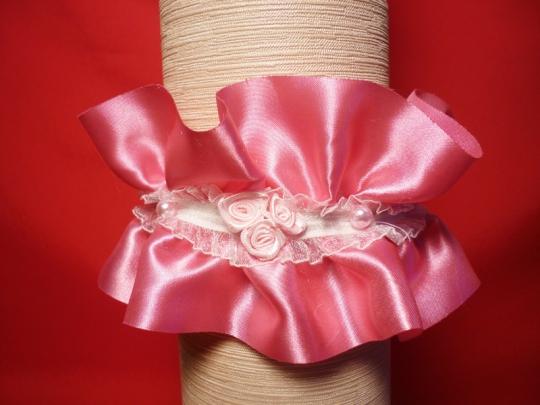 Подвязка Жемчужина розовая