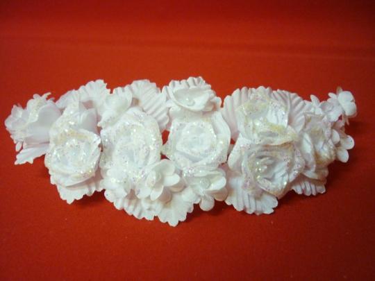 Веночек белый Роза №5