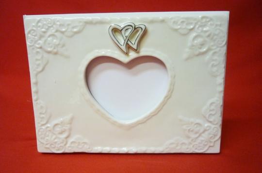 Книга пожеланий фарфор Два сердца