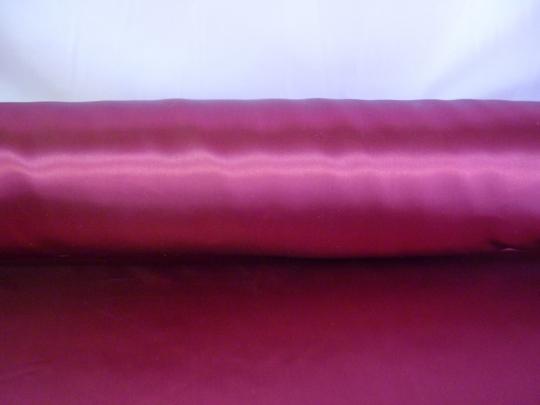Атлас бордо ширина 1,5м длина 100м