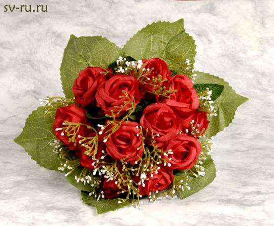 Букет для невесты Роза красный