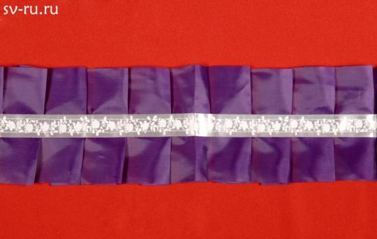 Рюшь на а/м упаковка 5 штук (фиолетовый)