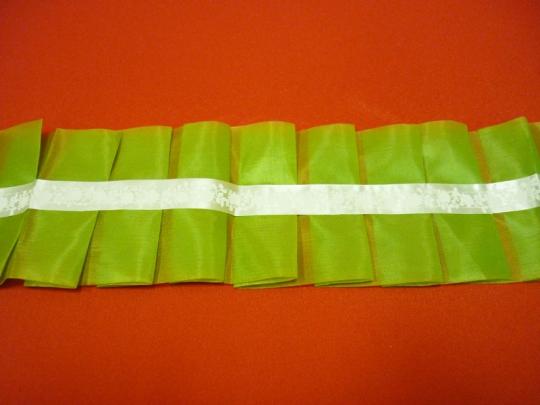 Рюшь на а/м упаковка 5 штук (оливковый)